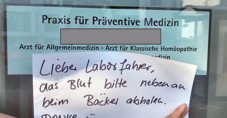 Blut Laborfahrer Bluttransport Organtransport Berlin