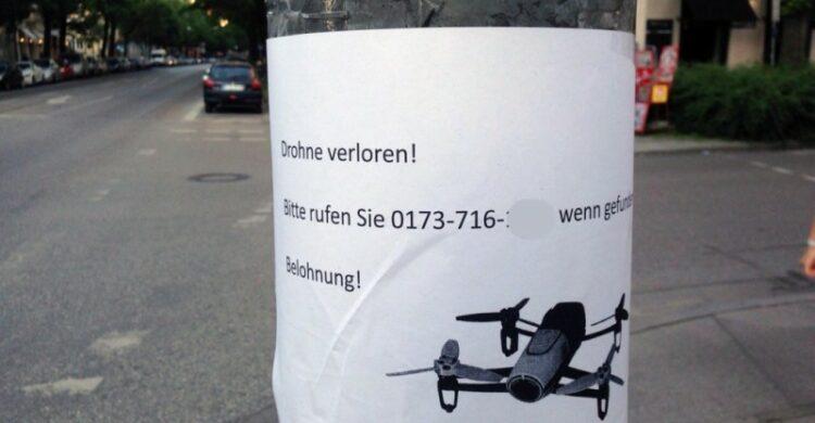 Drohne verloren gesucht