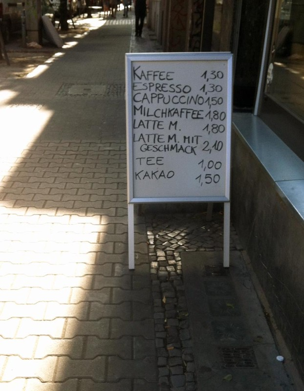 Guter Kaffee in Berlin
