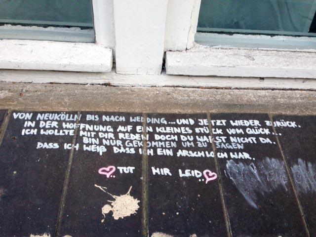 Liebeskummer in Berlin