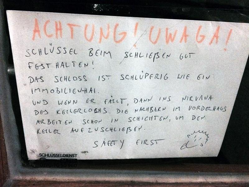 Nachbarschaft Berlin Schlüsseldienst Berlin