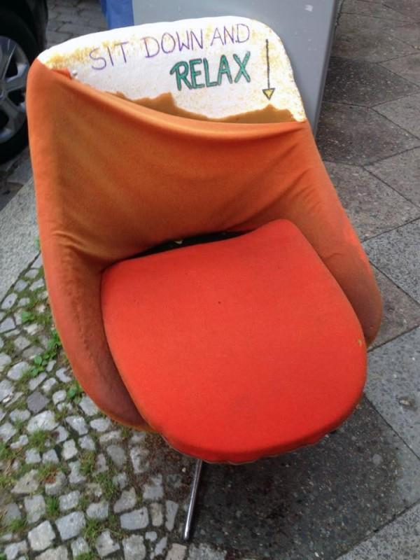 Ruhepause Relaxen Relaxing Entspannen in Berlin