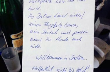 Sachsen und Berliner Vorurteile