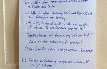 Diebe im Haus Nachbarn Diebstahl Hausflur Treppenhaus Berlin Notes of Berlin