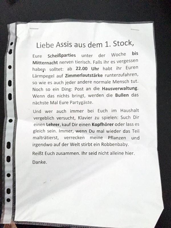 Eure Scheißparties Berlin Privatparty