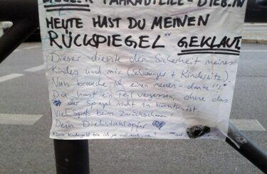 Fahrraddiebstahl in Berlin