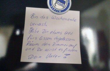 Hertha BSC junger Fan Erziehung