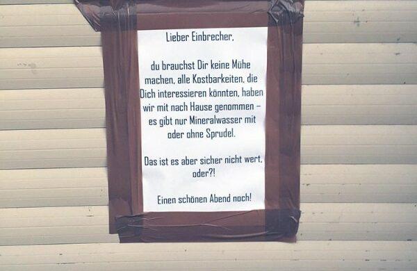 In Berlin wird viel eingebrochen