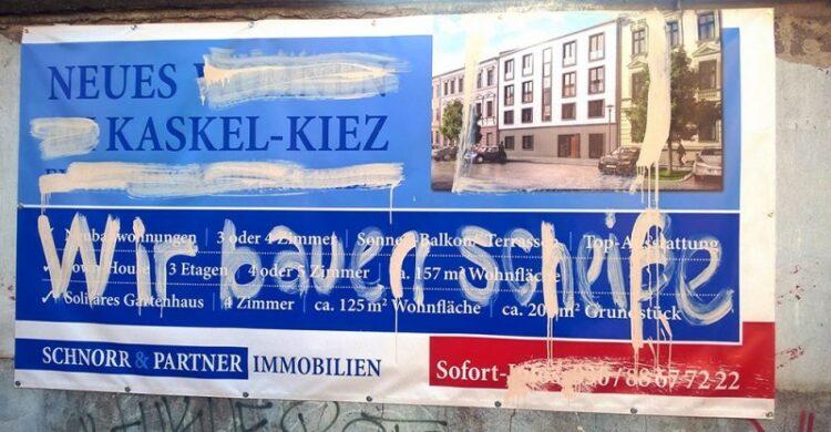Kaskel-Kiez Lichtenberg Kritik Anwohner Beschwerden Gentrifikation teuer