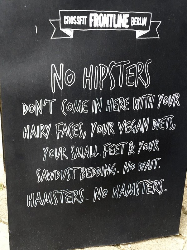 No Hipsters Berlin Fitnessstudio