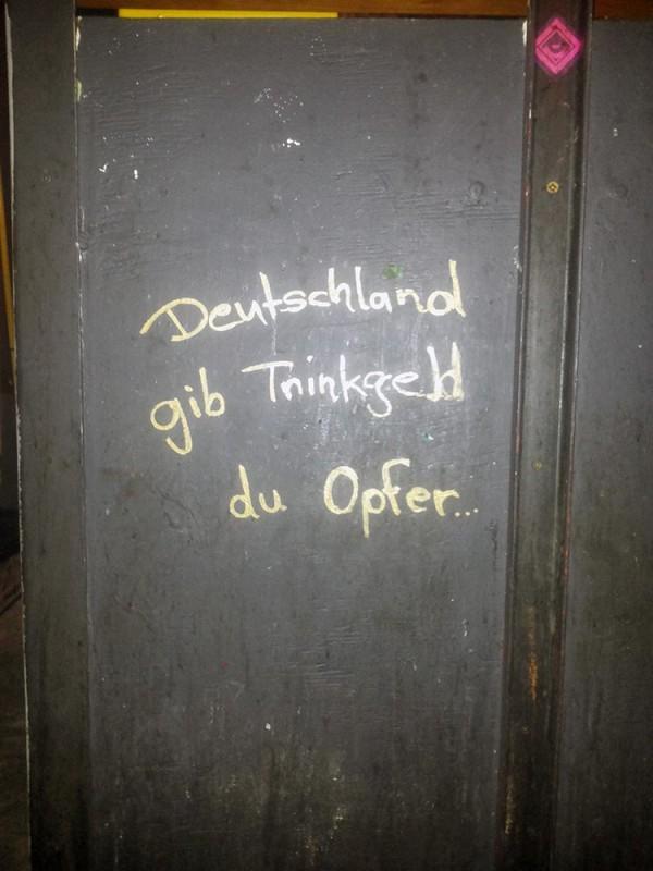 trinkgeld deutschland
