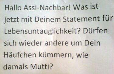 Assi-Nachbar Assi-Nachbarn Berlin
