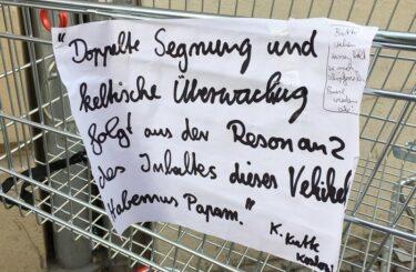 Einkaufswagen Berlin Lustige Sprueche aus Berlin