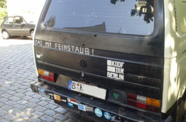 Feinstaub VW Volkswagen VW-Bus Berlin
