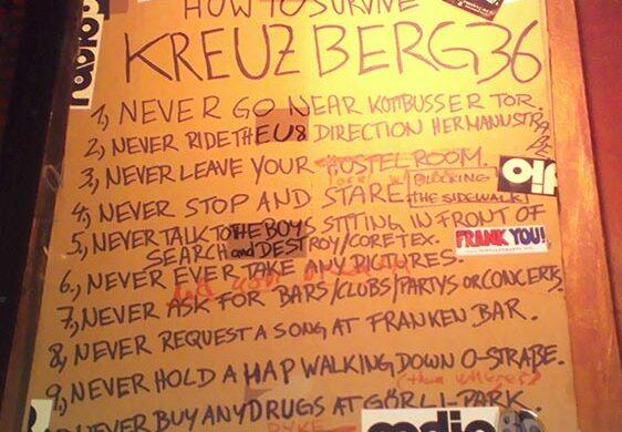 How to survive in Kreuzberg Berlin