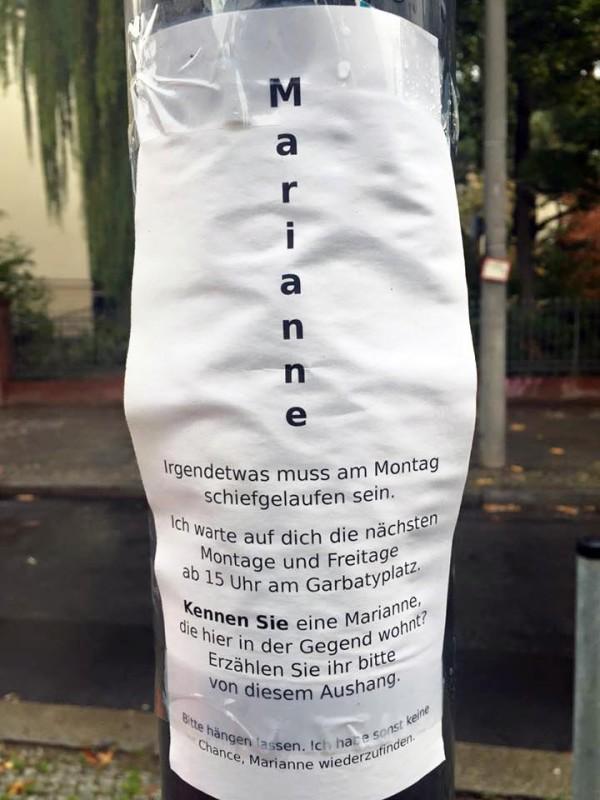 Lustige Zettel aus Berlin Zettelwirtschaft Notes of Berlin Berliner Blog Joab Nist