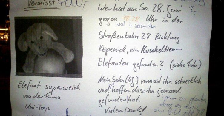 Notes of Berlin Zettel Kinder Berliner Blog