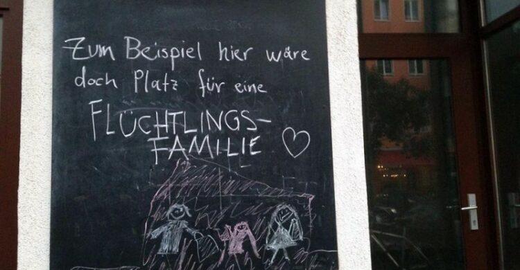 Unterkunft für Flüchtlinge in Berlin