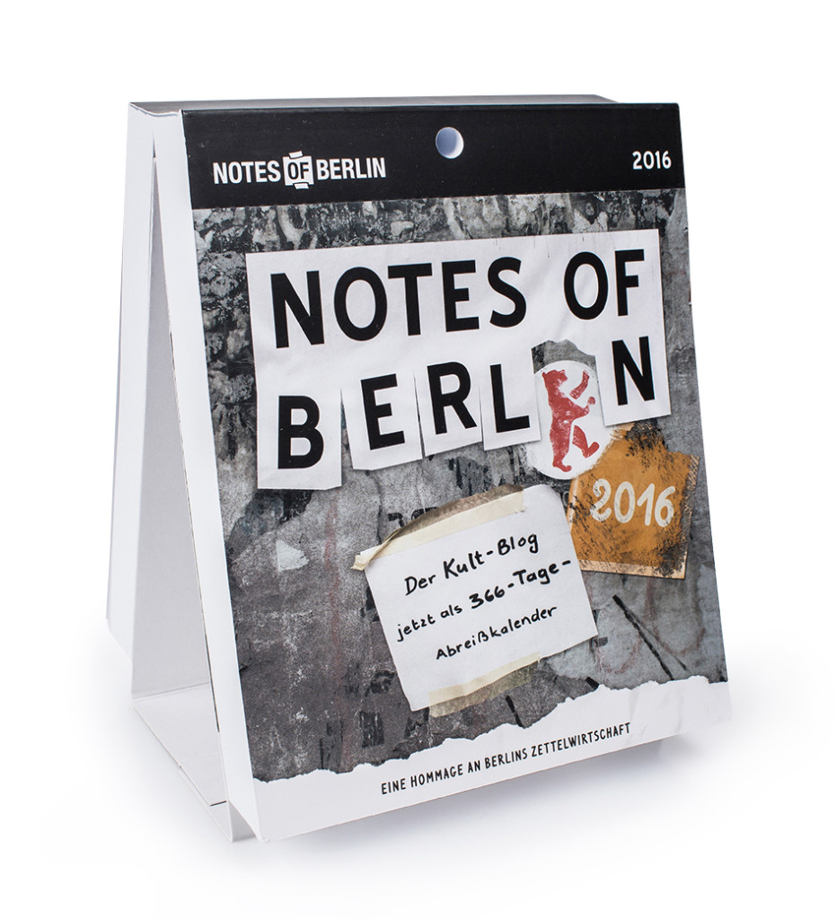 Cover_Notes of Berlin Kalender 2016