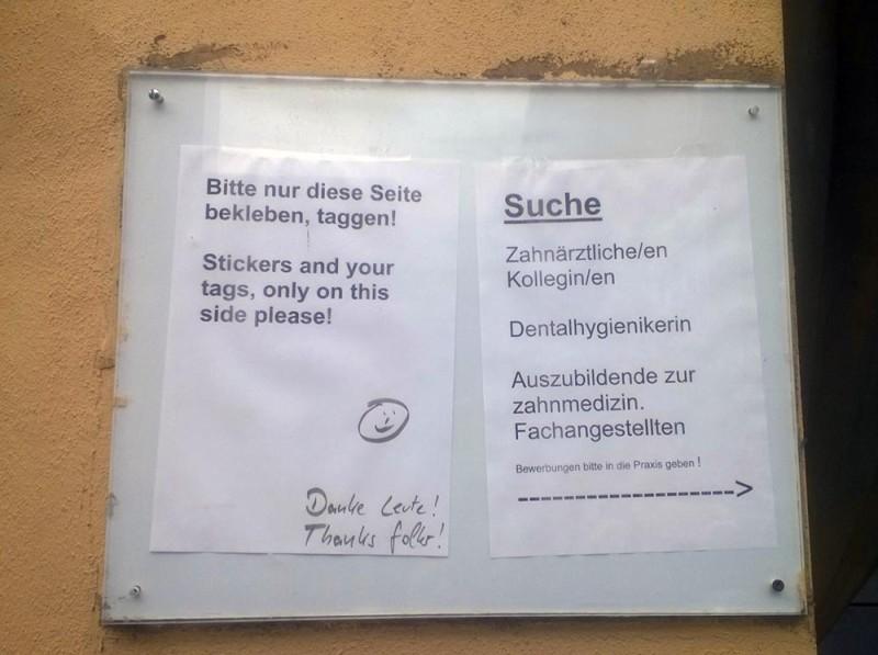 Freiflaechen freie Flaechen fuer Graffiti Street Art in Berlin
