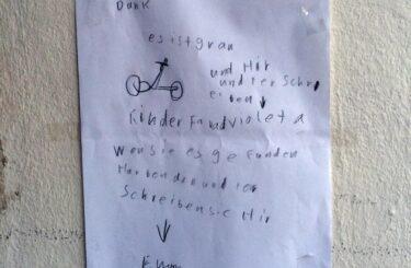 Kinderfahrrad kaufen in Berlin Wo gibt es Kinderfahrraeder in Berlin? Fahrraddiebstahl in Berlin