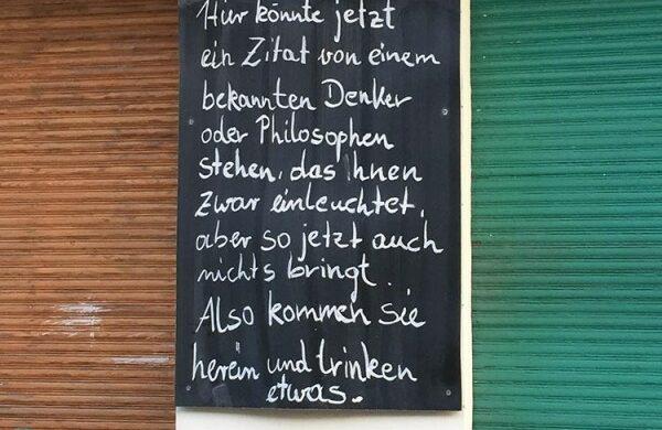 Lustige Sprüche Schilder aus Berlin Typisch Berlin Dit is Berlin, wa!