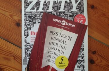 Notes of Berlin Sonderheft Zitty