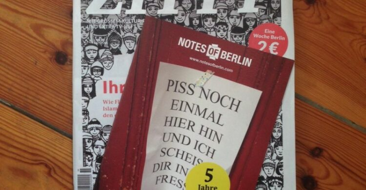 Notes of Berlin Sonderheft Zitty