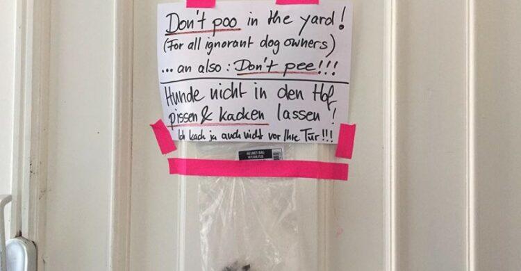 Streit mit den Nachbarn Aerger mit den Nachbarn. Was hilft? Was tun?