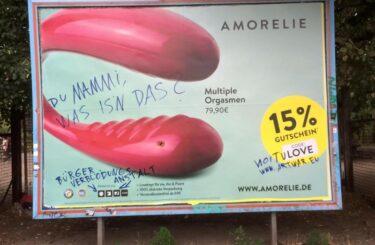 Wer nicht fragt bleibt dumm Sex-Adbusting Berlin