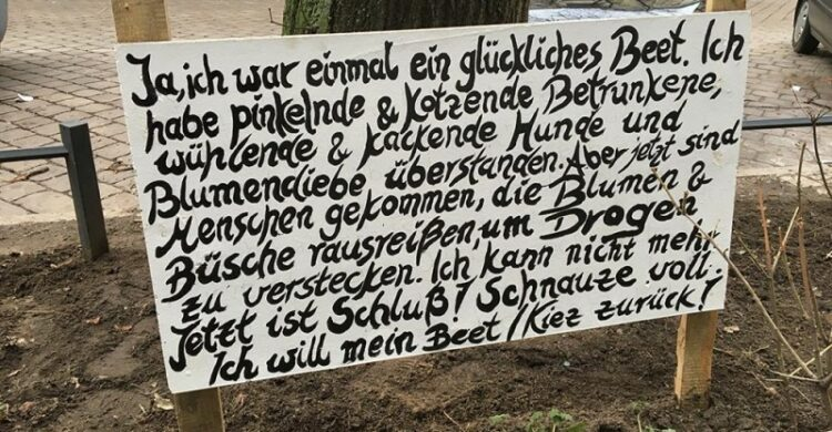 Berlin ist hart dreckig kriminell