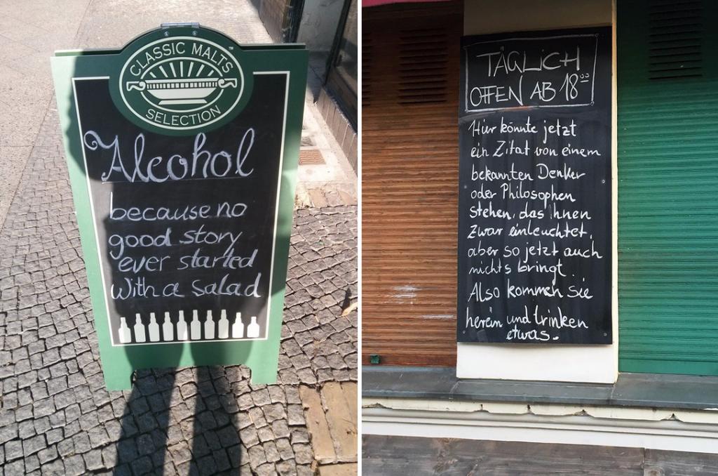 Saufen in Berlin