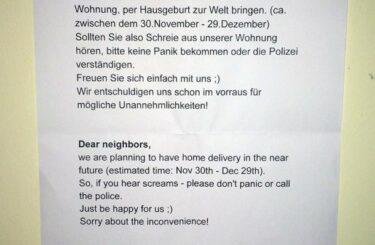 Hausgeburt Berlin Erfahrung Tipps