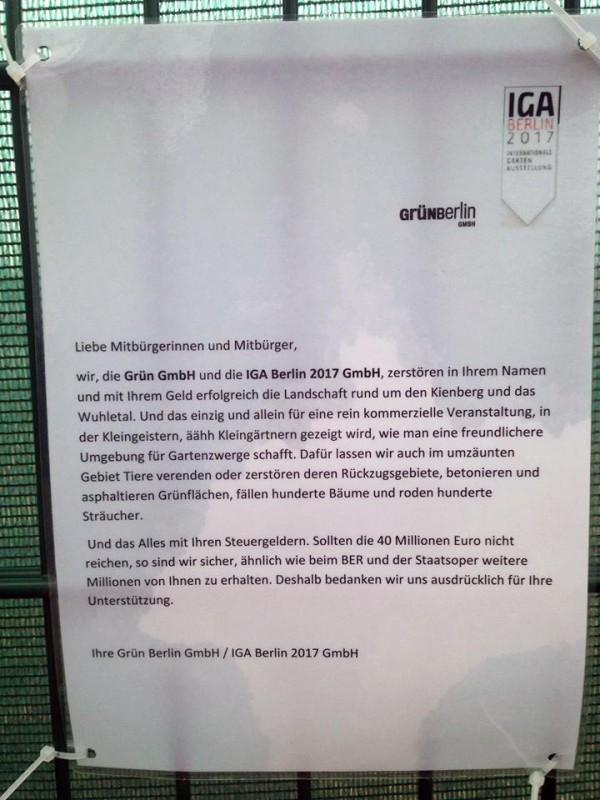 IGA BERLIN 2017 Grün GmbH