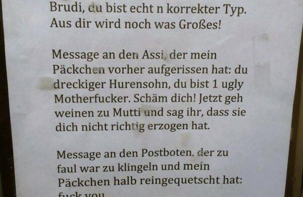 Lustige Zettel bei Notes of Berlin