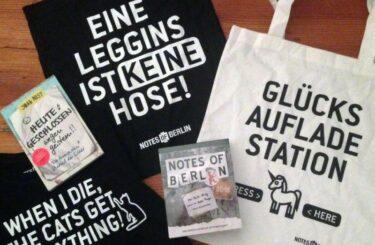 Notes of Berlin Buch Kalender kaufen