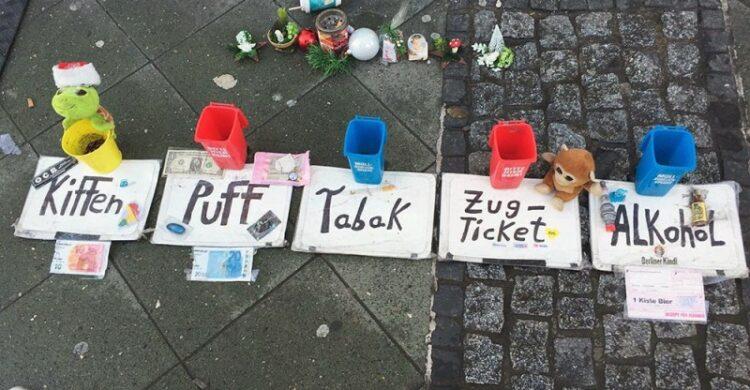 Obdachlose in Berlin