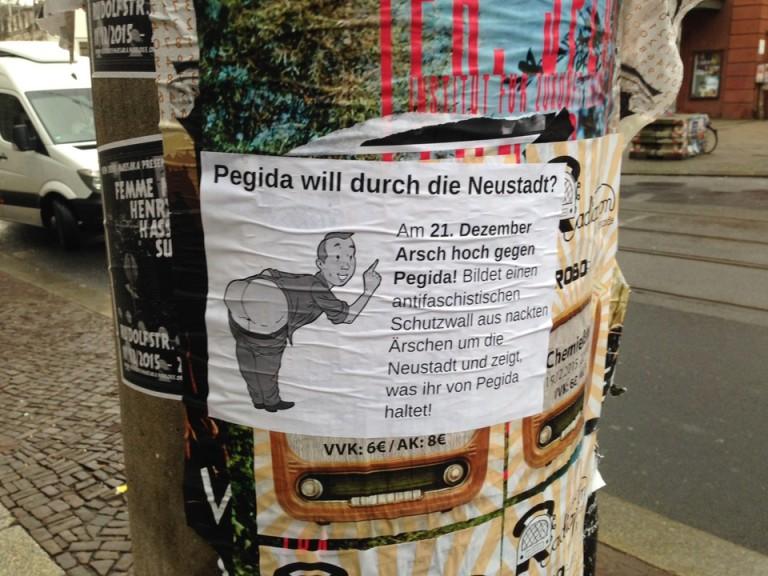 Pegida Demo Dresden 21 Dezember