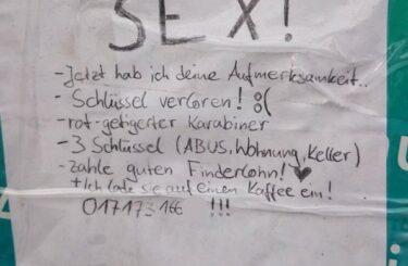 Sex sells Sex zieht immer