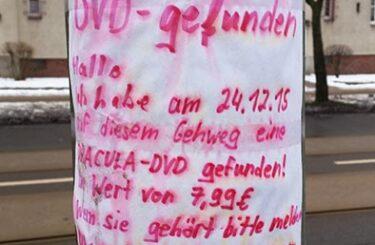 Dracula-Film auf DVD