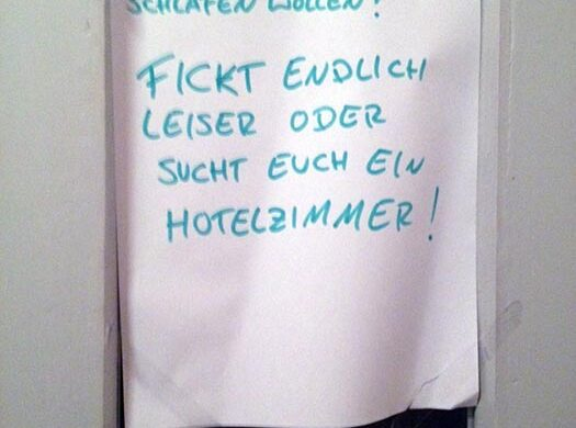Lauter Sex Nachbarn Berlin