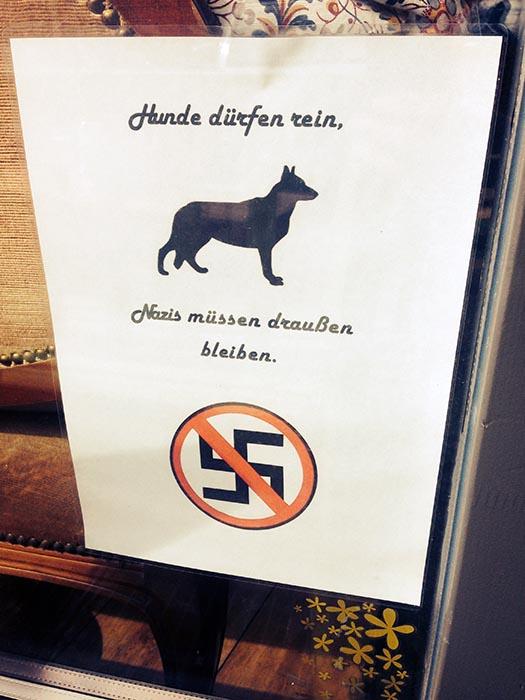 Nazis raus_Kein Einlass fuer Nazis