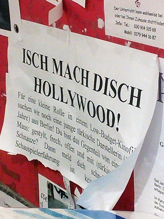 Schauspielrollen Berlin_Jobs Schauspieler