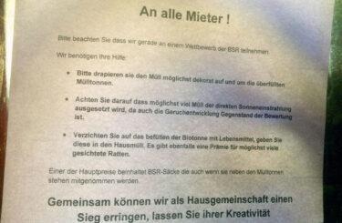 BSR Wettbewerb Berlin Berlin ist dreckig
