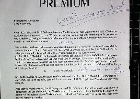 Premium Modemesse Berlin
