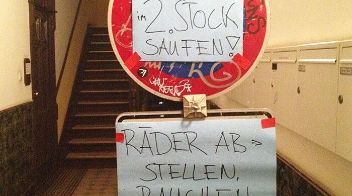 Saufen feiern in Berlin Wochenende