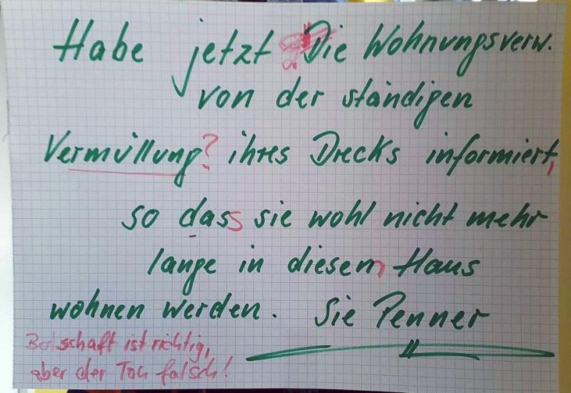 Berliner Schnauze unfreundlich