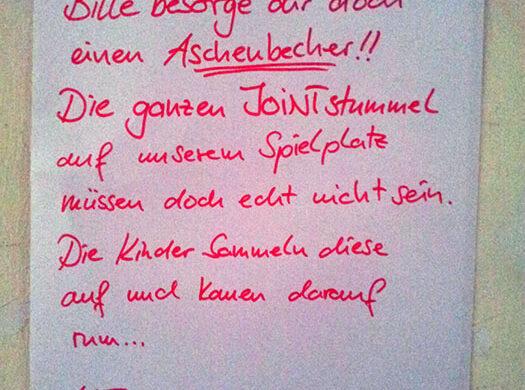 Drogen auf Spielplatz Berlin was tun?