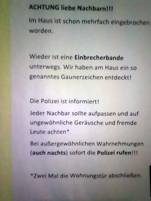 Einbrecherbanden Berlin