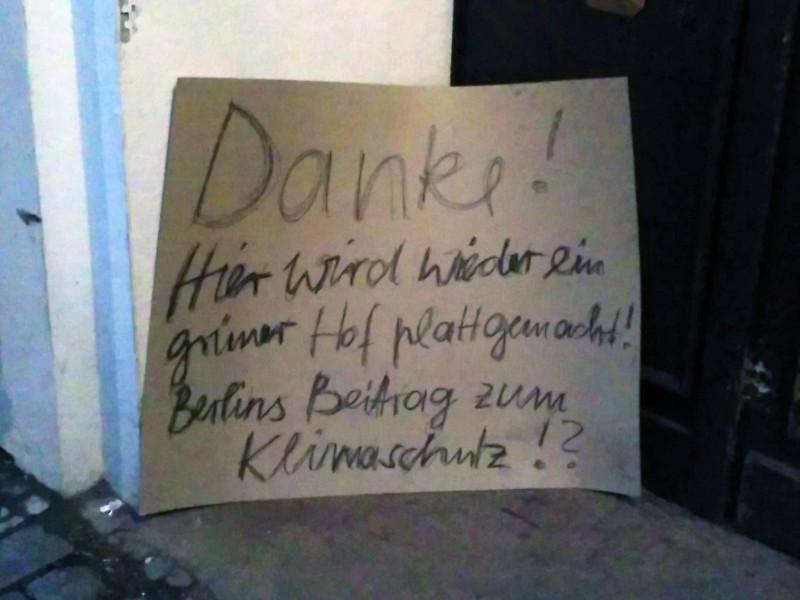 Klimaschutz Beitrag Berlin